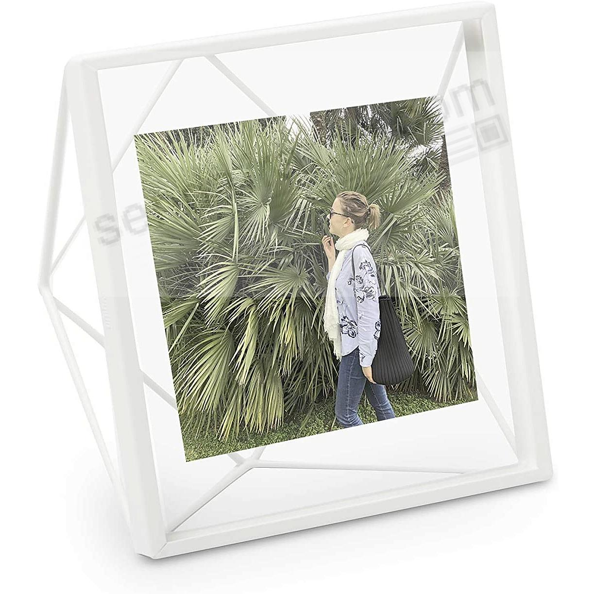 The Original PRISMA Photo Display White 4x4 frame by Umbra®