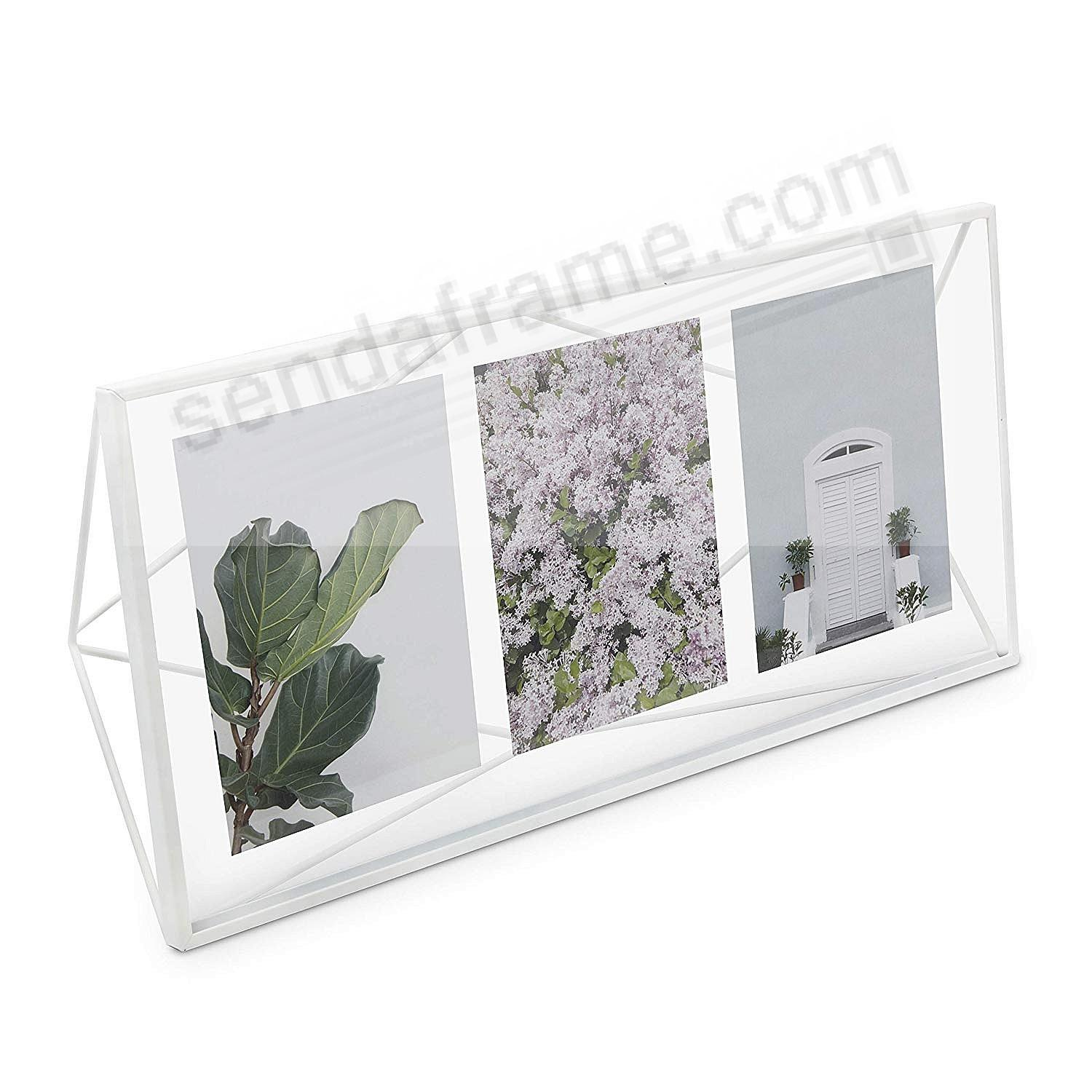 The Original PRISMA Photo Display White frame by Umbra®