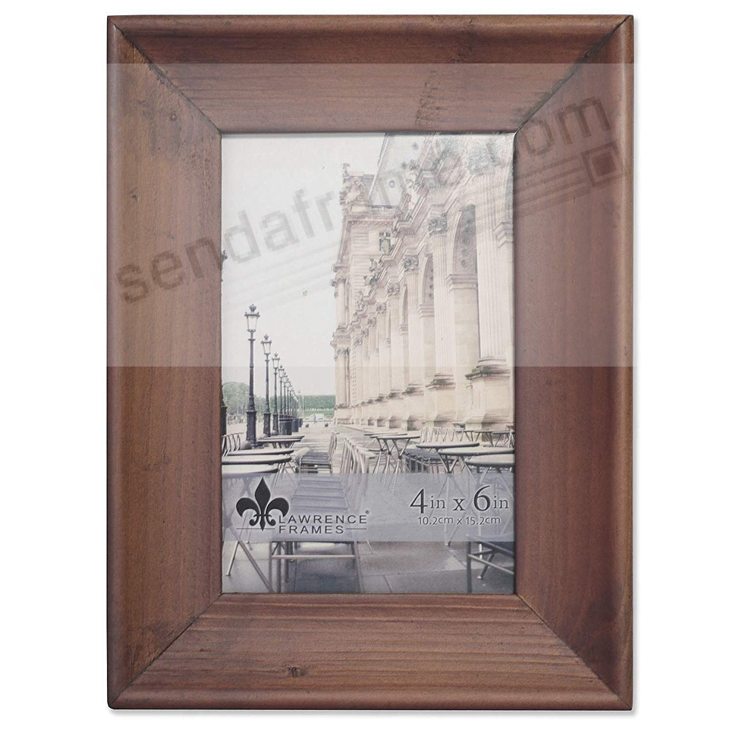 Weathered WHITNEY Brown 4x6 Frame by Lawrence®