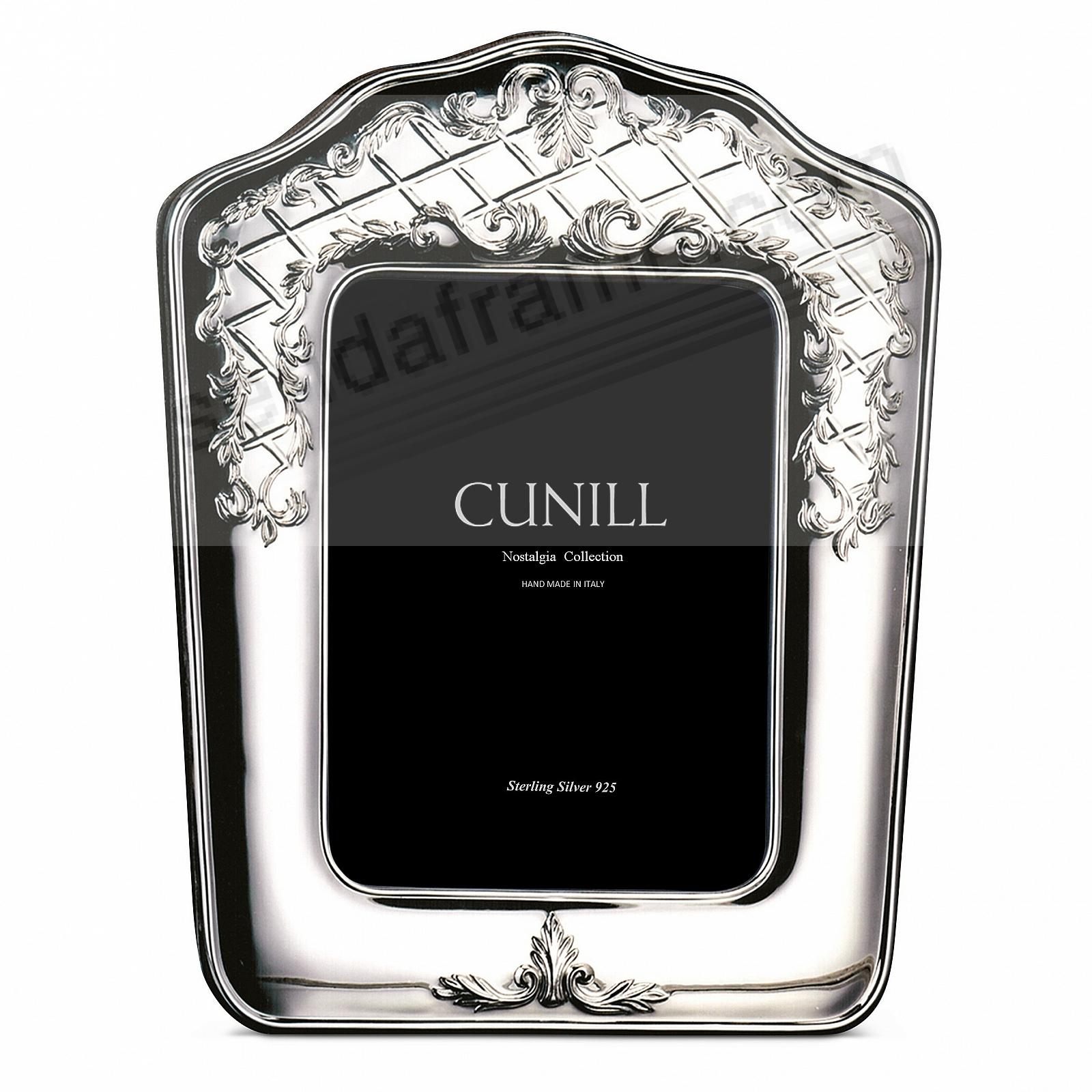 PERGOLA Sterling Silver Luxe 5x7 frame<br>by Cunill®