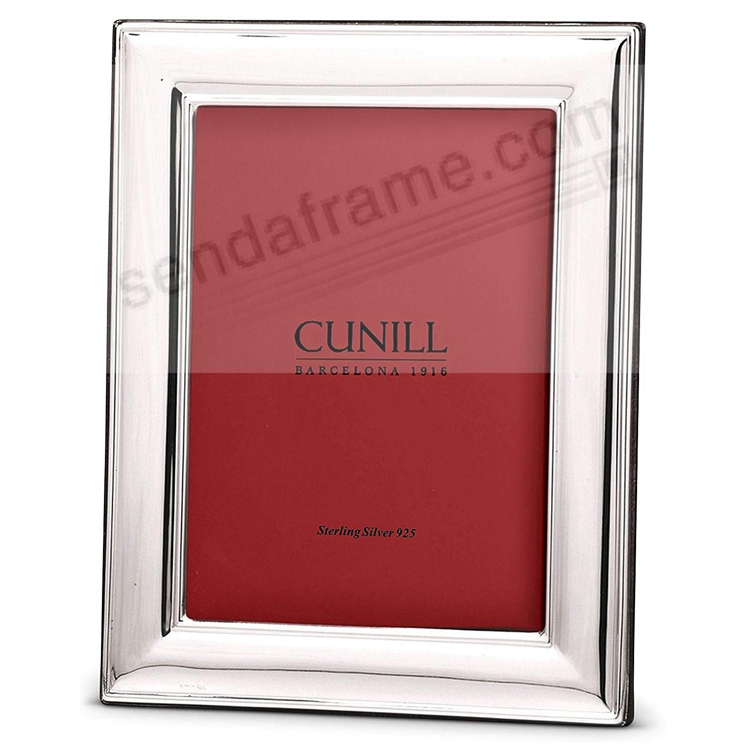 LONDON .925 Fine Sterling Silver 8x10/7x9 frame by Cunill®