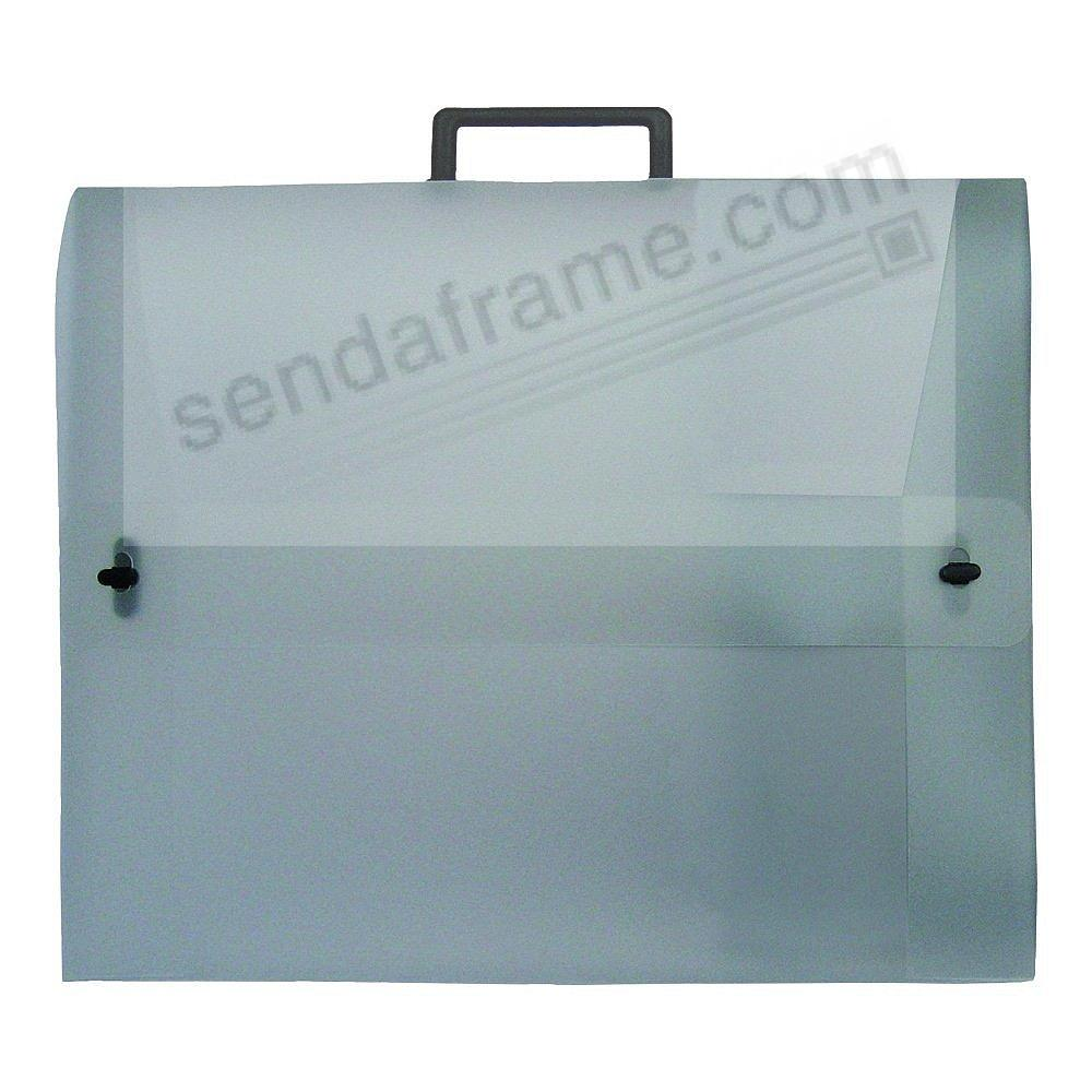 The START0 Essential Portfolio Translucent w/Double-Opening 15x18x1.5 by Prat®
