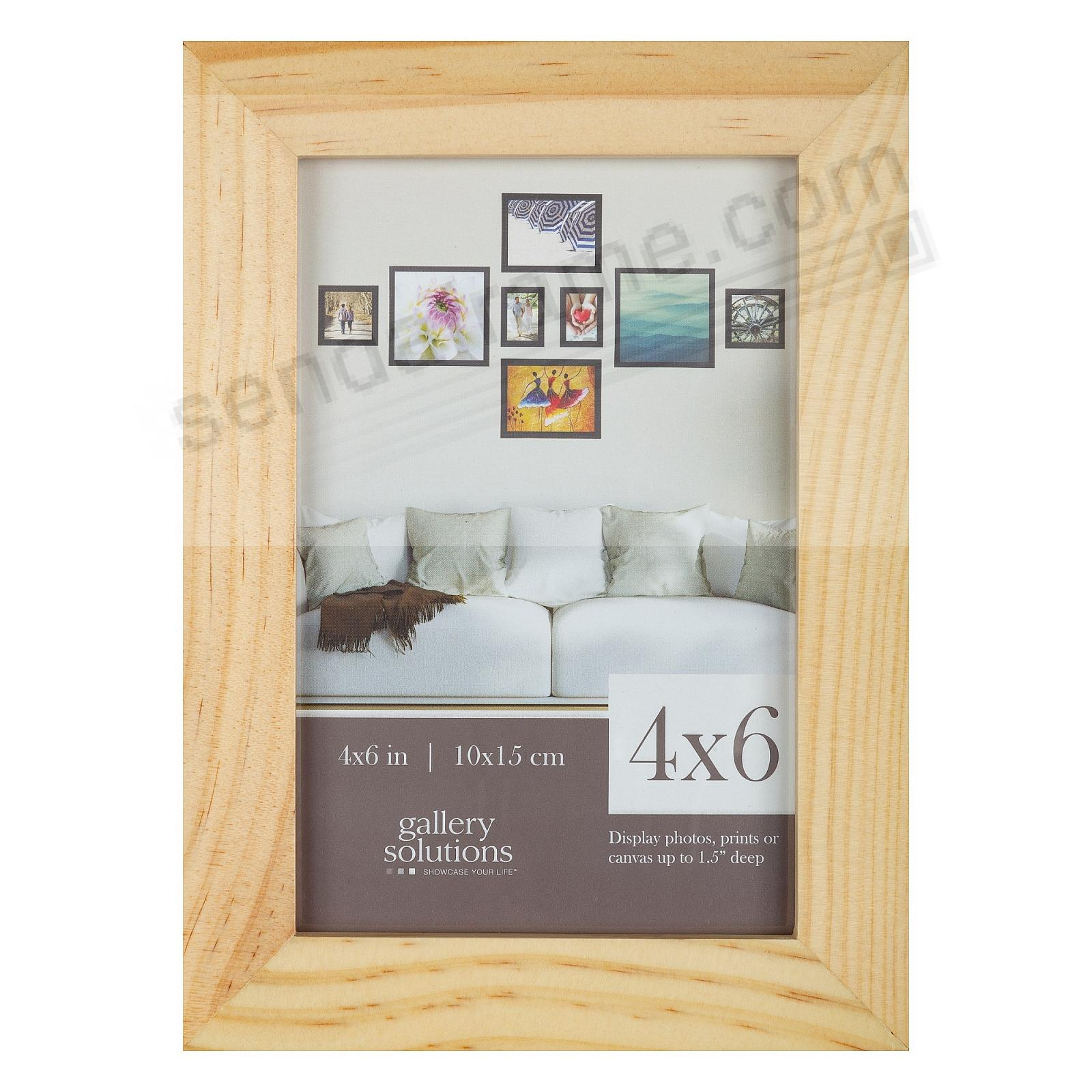 NATURAL GALLERY 4x6 frame by Gallery Solutions®