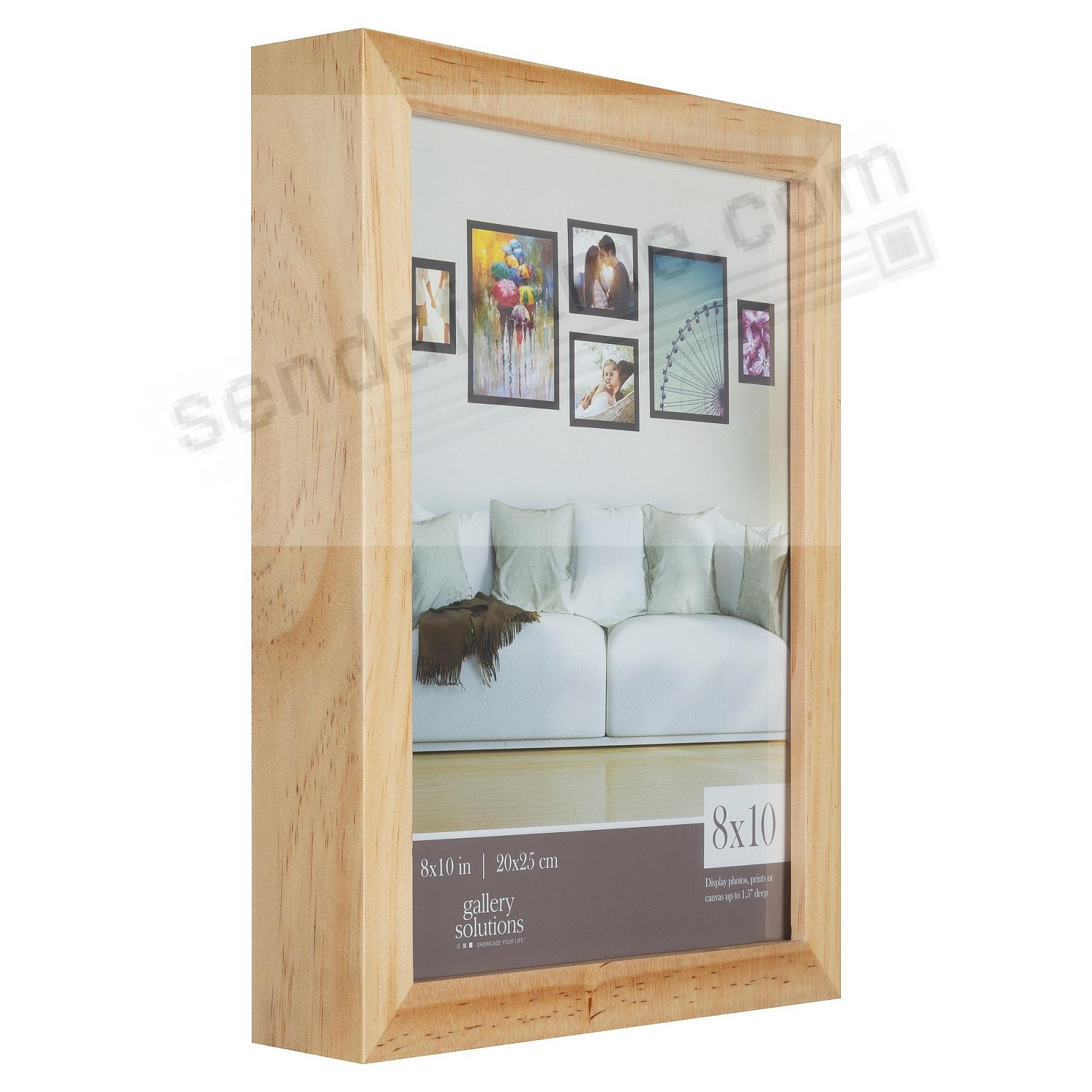 NATURAL GALLERY 8x10 frame by Gallery Solutions®