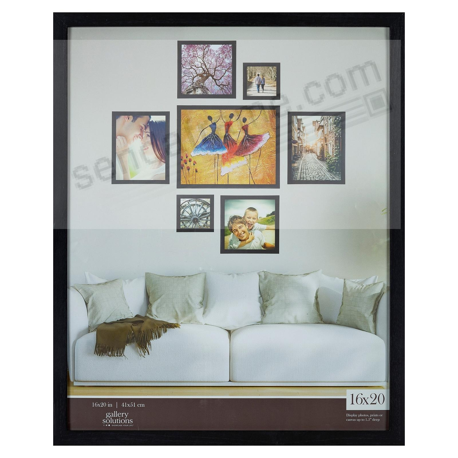 BLACK GALLERY 16x20 frame by Gallery Solutions®