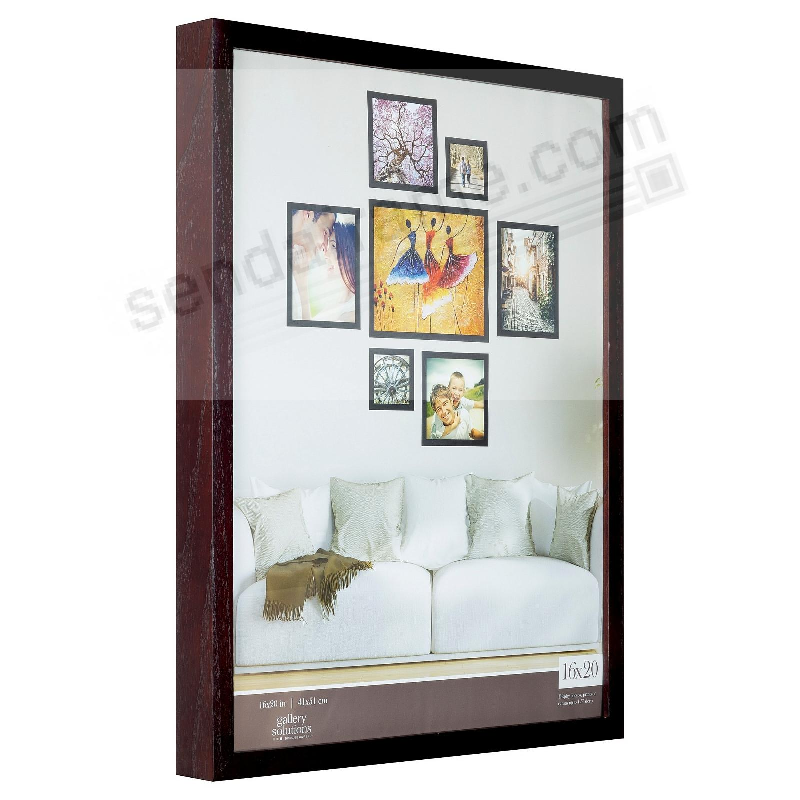 Walnut GALLERY 16x20 frame by Gallery Solutions®