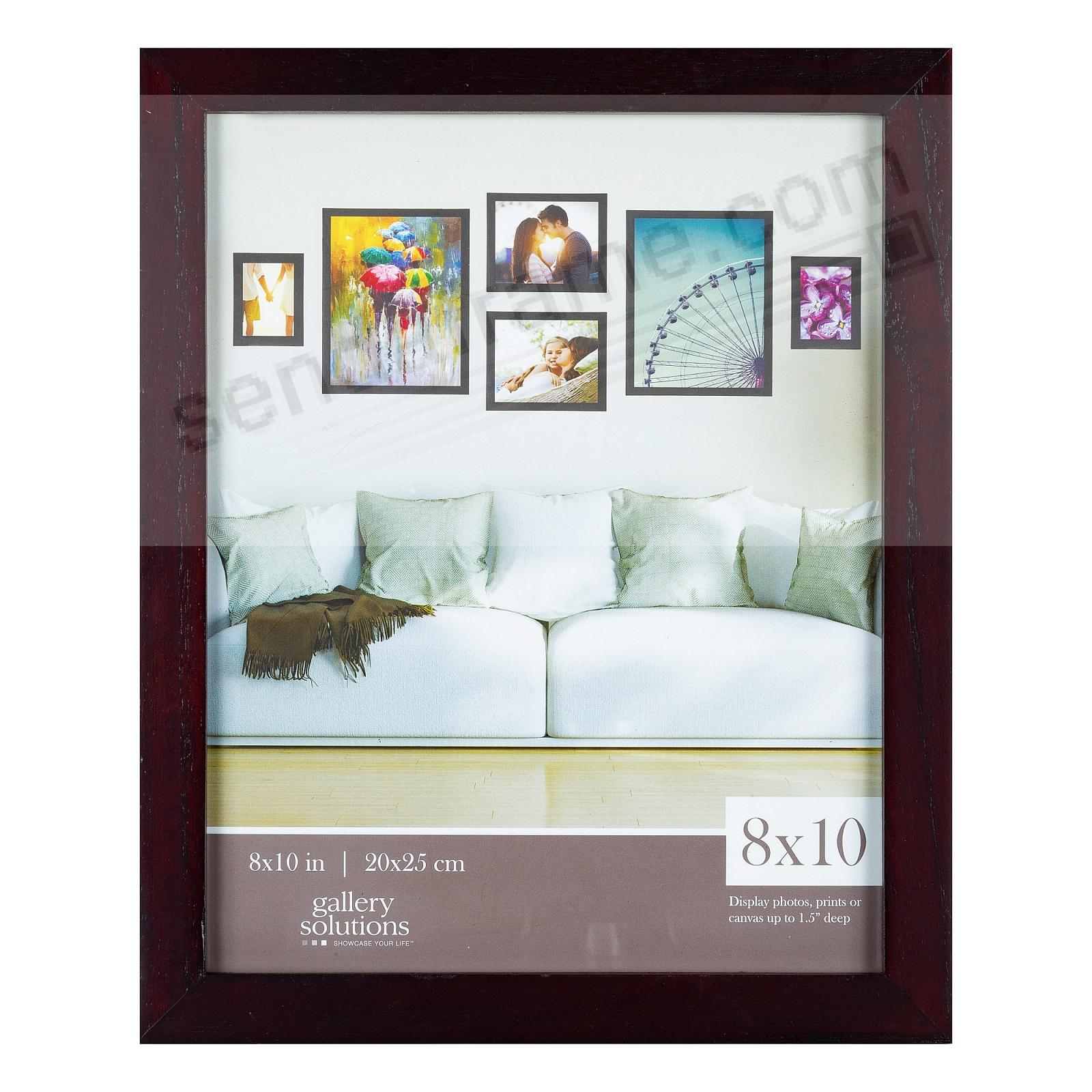 Walnut GALLERY 8x10 frame by Gallery Solutions®