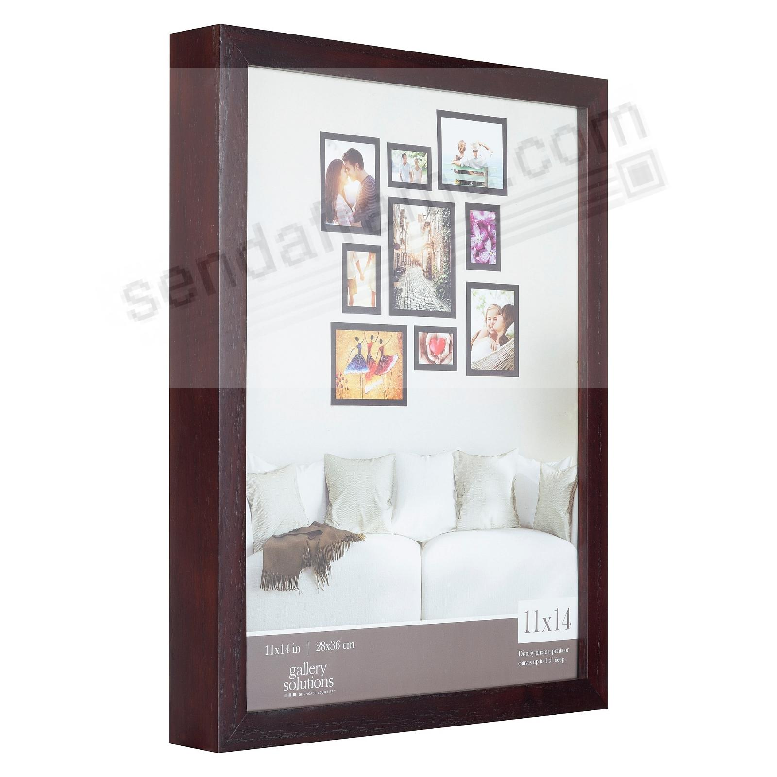 Walnut GALLERY 11x14 frame by Gallery Solutions®