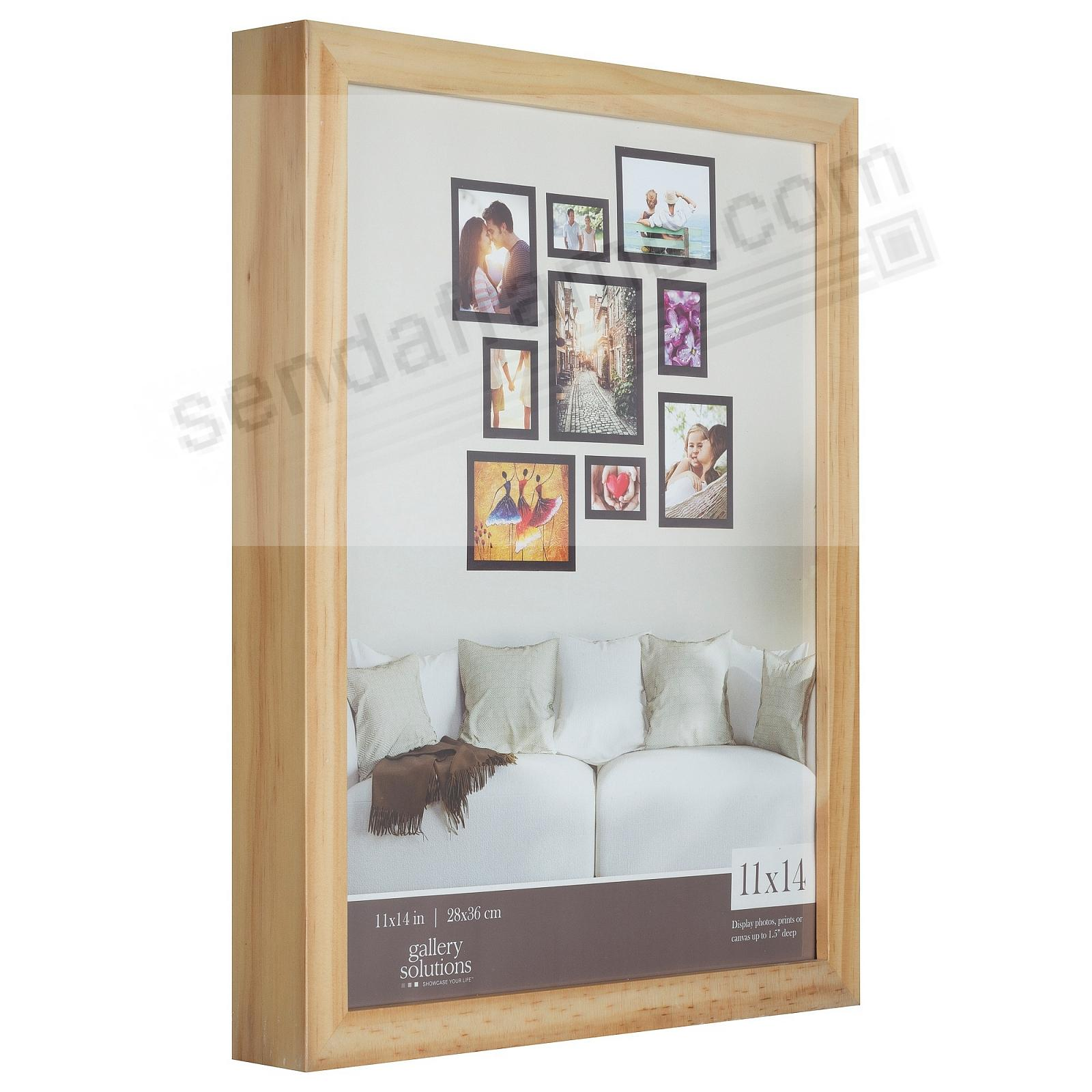 NATURAL GALLERY 11x14 frame by Gallery Solutions®