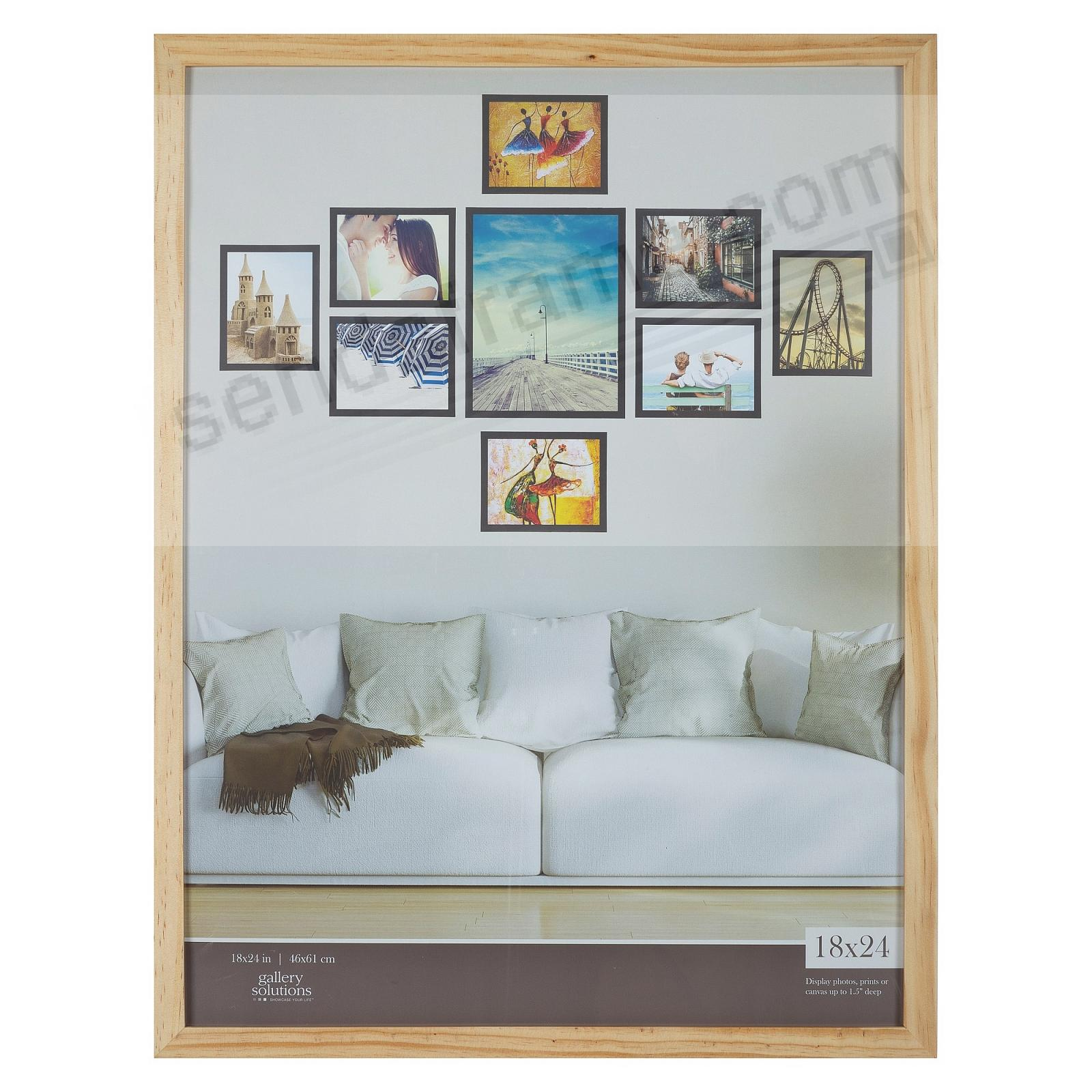 NATURAL GALLERY 18x24 frame by Gallery Solutions®