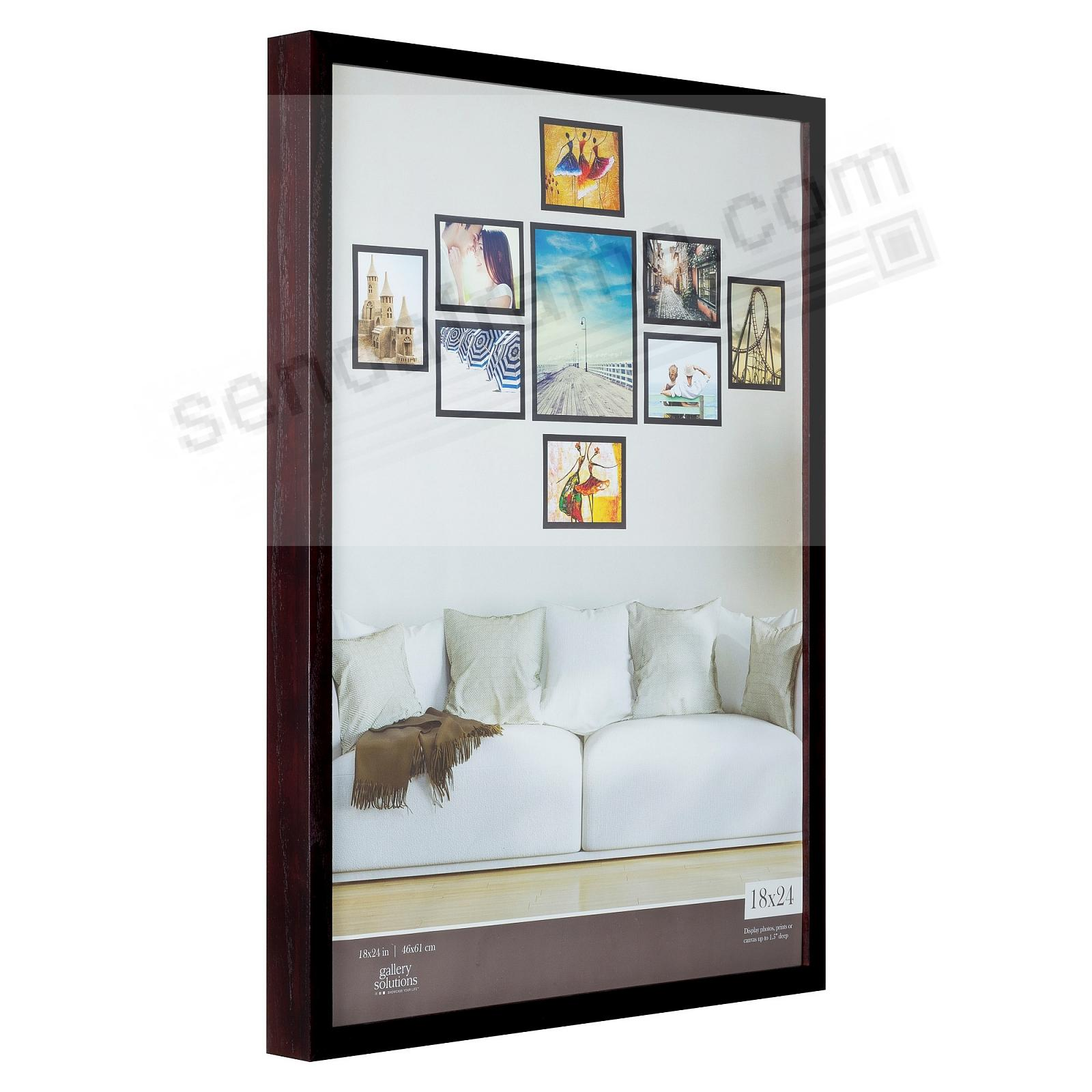 Walnut GALLERY 18x24 frame by Gallery Solutions®