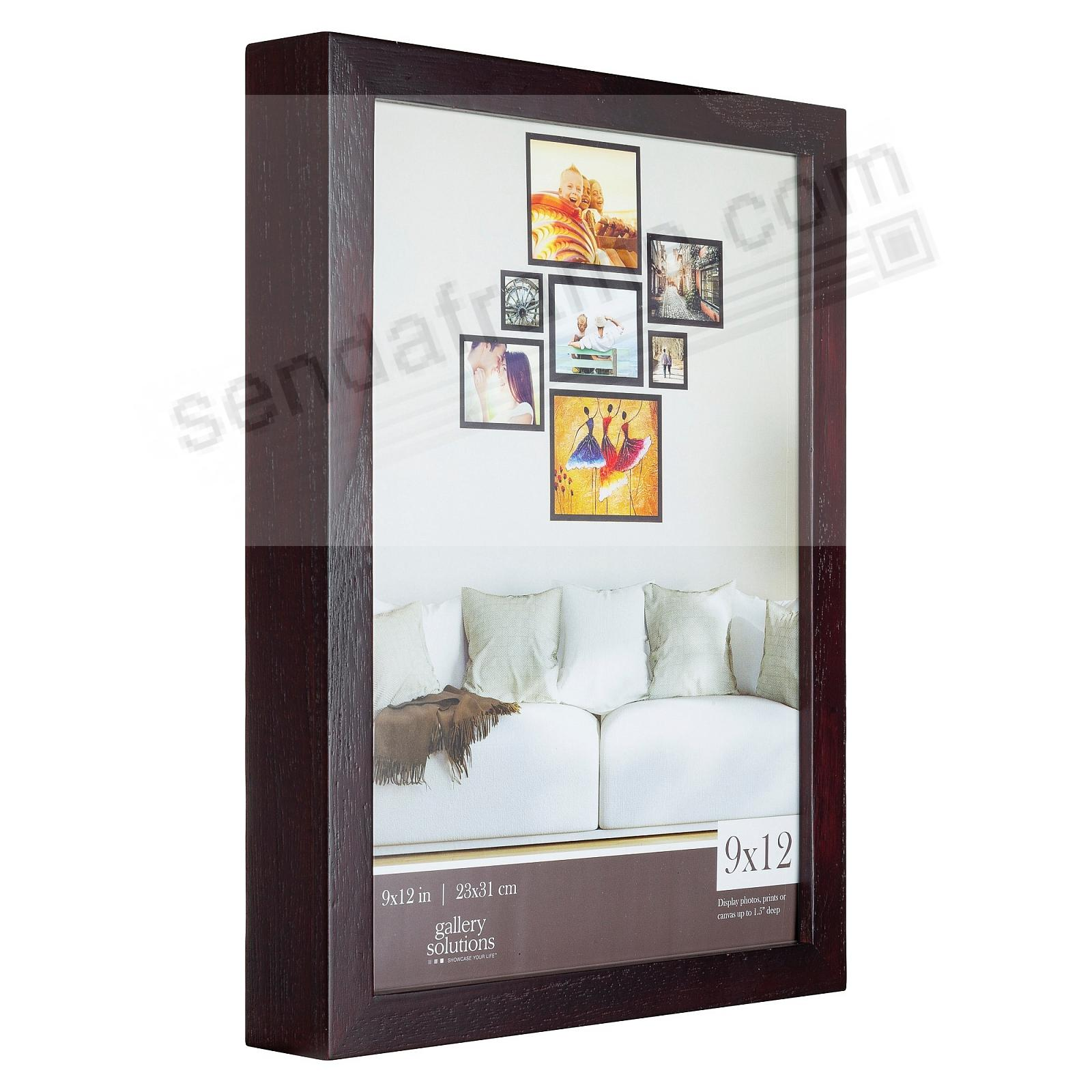 Walnut GALLERY 9x12 frame by Gallery Solutions®