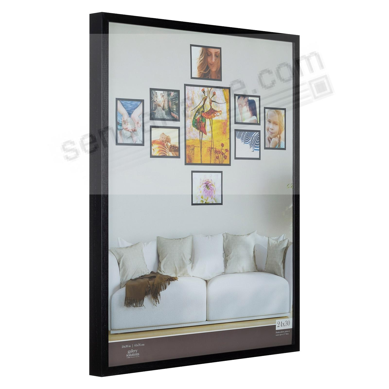 BLACK GALLERY 24x30 frame by Gallery Solutions® (3s)