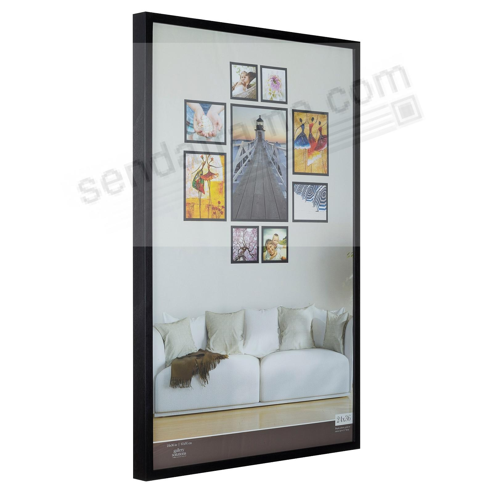 BLACK GALLERY 24x36 frame by Gallery Solutions® (3s)