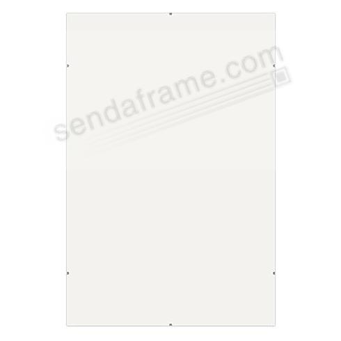 The FRAMELESS CLIP 11x14 frame by Framatic®