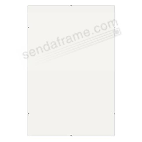 The FRAMELESS CLIP 8x10 frame by Framatic®