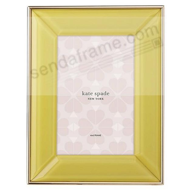 Charles Lane™ YELLOW 4x6 frame by kate spade new york®