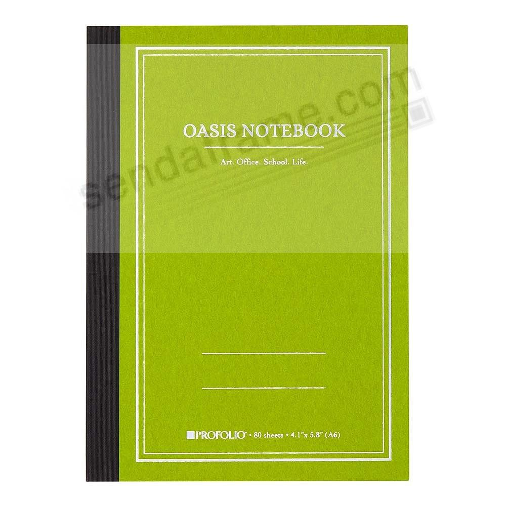 The ProFolio Oasis™ Notebook (SMALL) by ITOYA®- Avocado