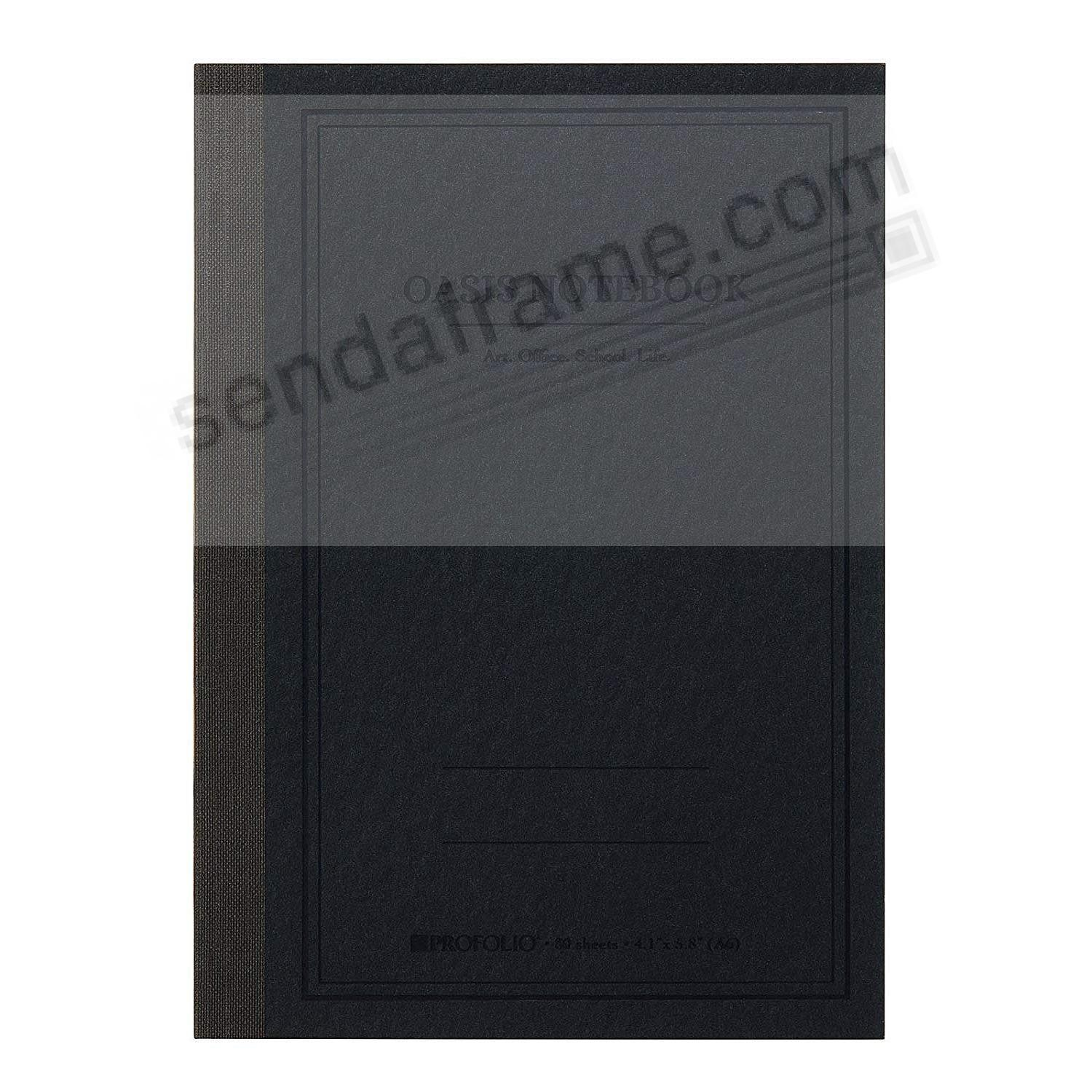 The ProFolio Oasis™ Notebook (SMALL) by ITOYA®- Charcoal