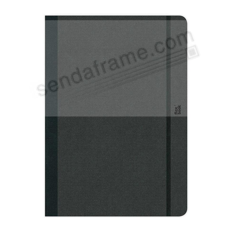 FLEXBOOK NOTEBOOK (5x8 Blank) Black by PratParis®