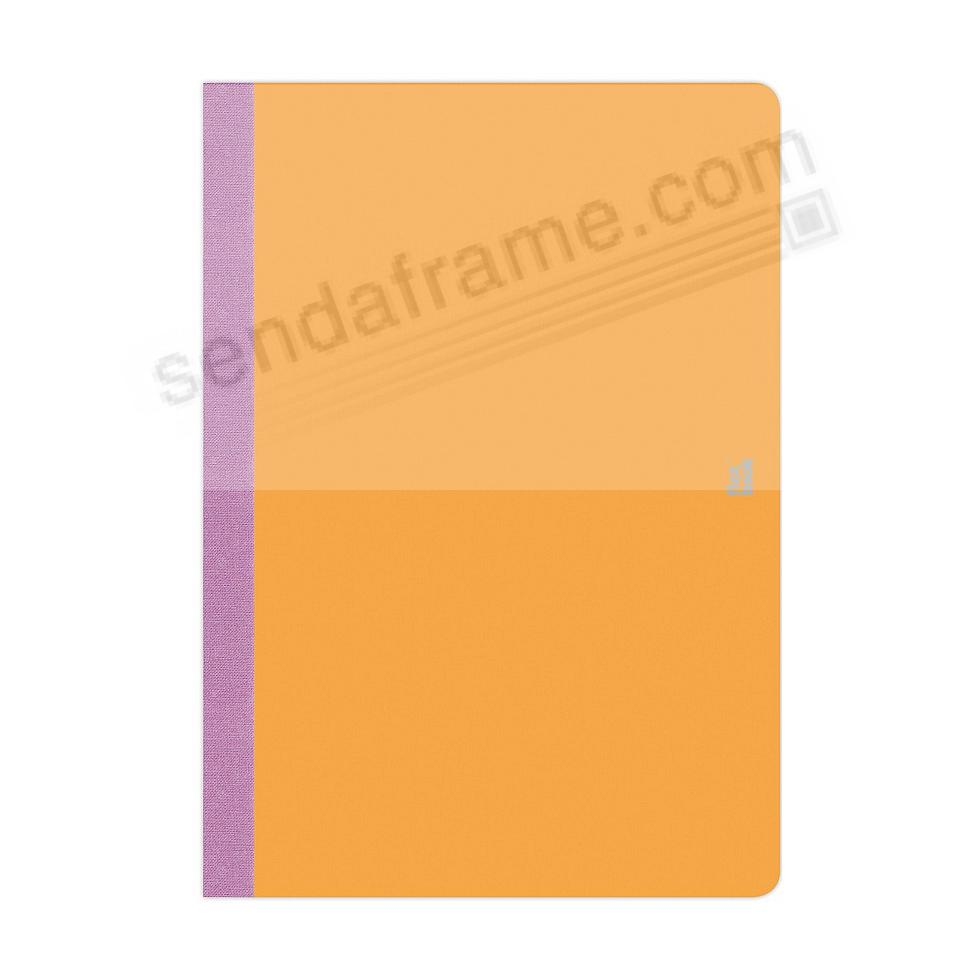 FLEXBOOK SMARTBOOK (3x5 Ruled) Orange/Purple by PratParis®