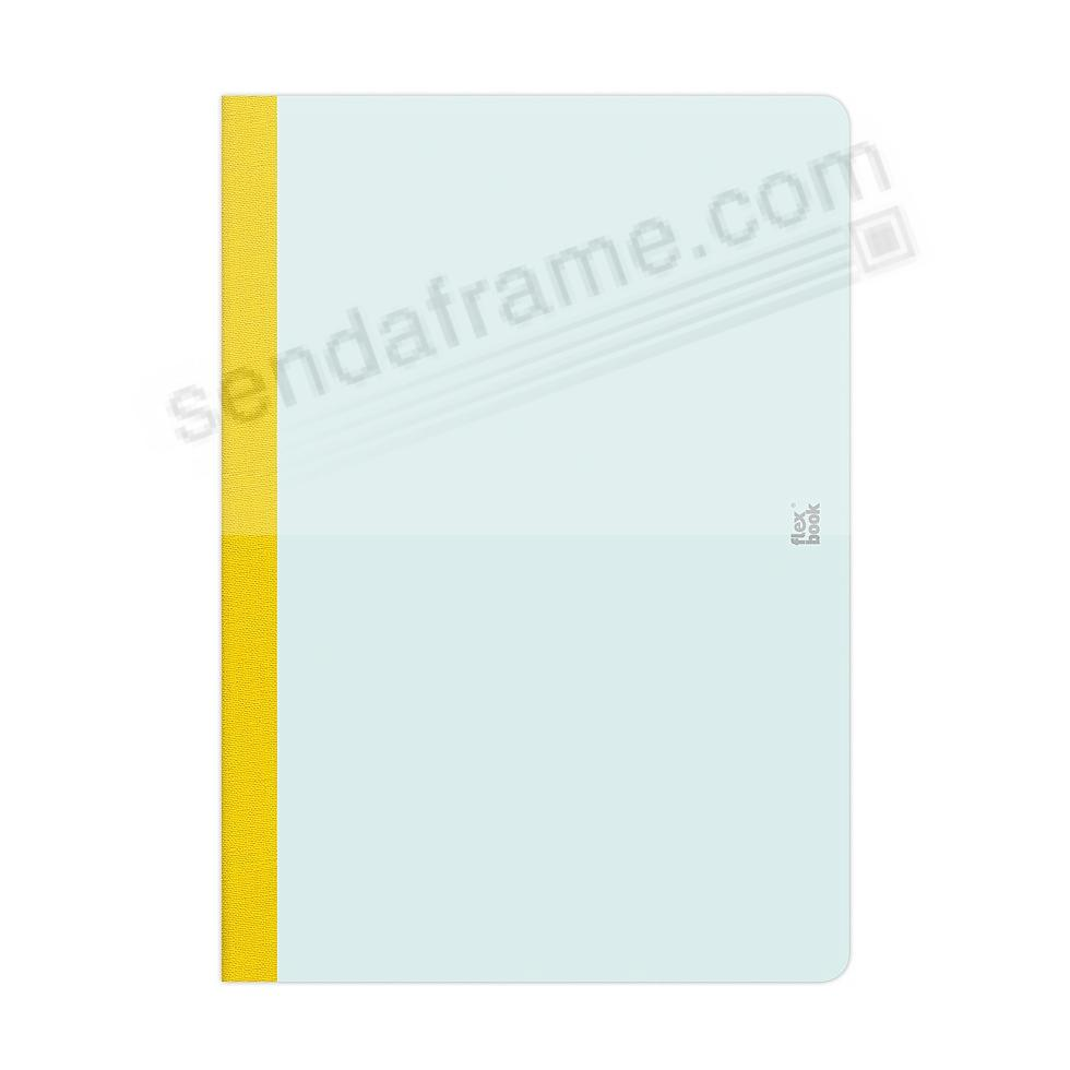 FLEXBOOK SMARTBOOK (5x8 Ruled) Mint-Green/Yellow by PratParis®