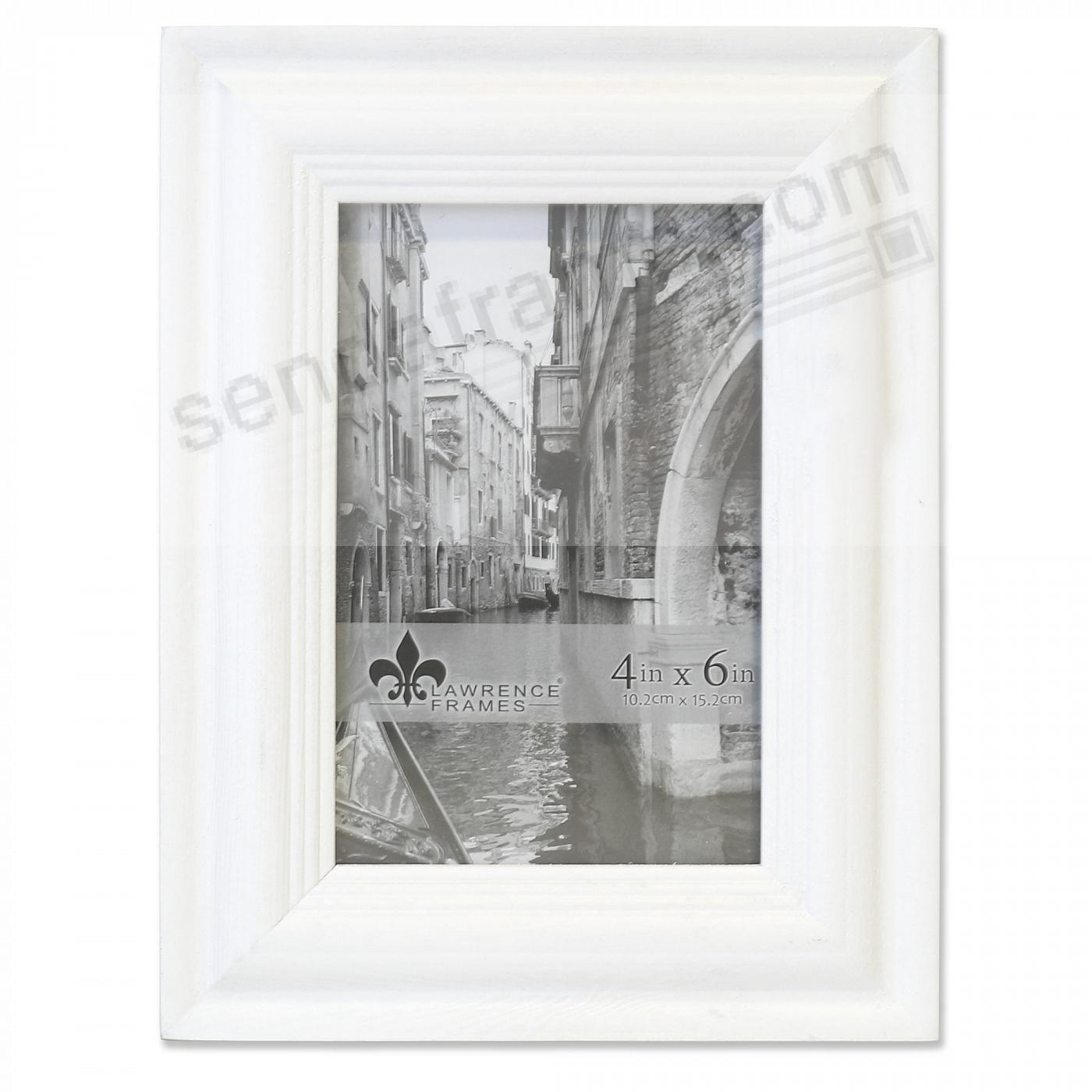 SUNWASHED WHITE 4x6 frame by Lawrence®