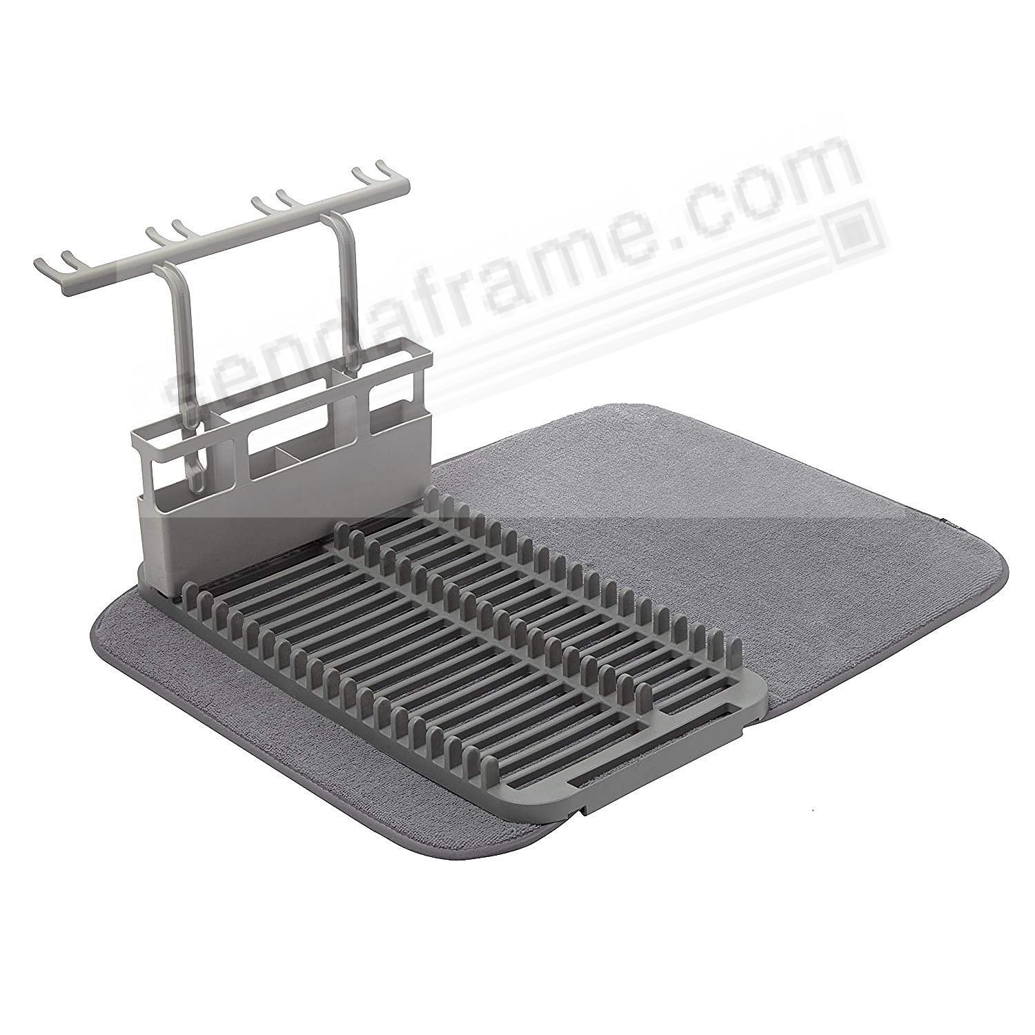 UDRY DISHRACK w/Drying Rack - CHARCOAL by Umbra®