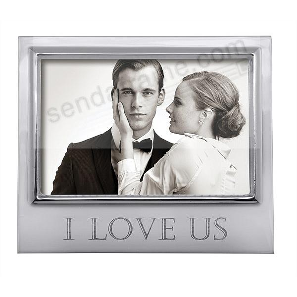 I LOVE US 6x4 STATEMENT frame by Mariposa®