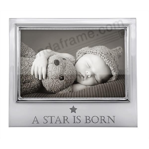 A STAR IS BORN 6x4 STATEMENT frame by Mariposa®