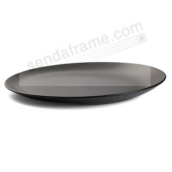 ORBIT PLATTER CELESTIAL-BLACK by Nambe®
