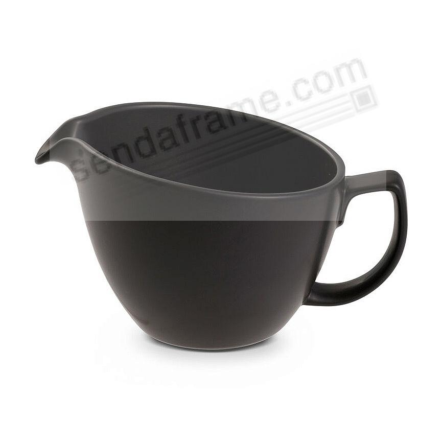 ORBIT CREAM PITCHER Celestial-Black by Nambe®