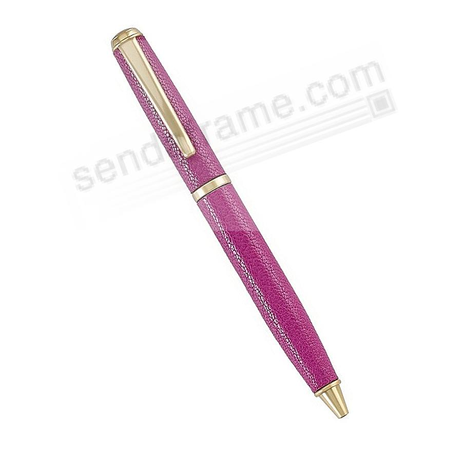 Full Wrap Fine Leather PEN in ORCHID Goatskin by Graphic Image™