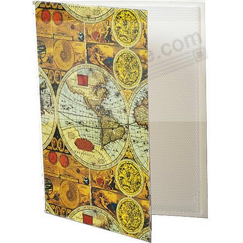 ANCIENT WORLD MAP Cover BRAGBOOKS by Pioneer® hold 24 photos (sold in 6's)