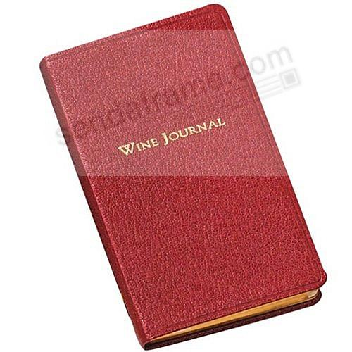 Garnet Leather POCKET WINE 5-in JOURNAL by Graphic Image™