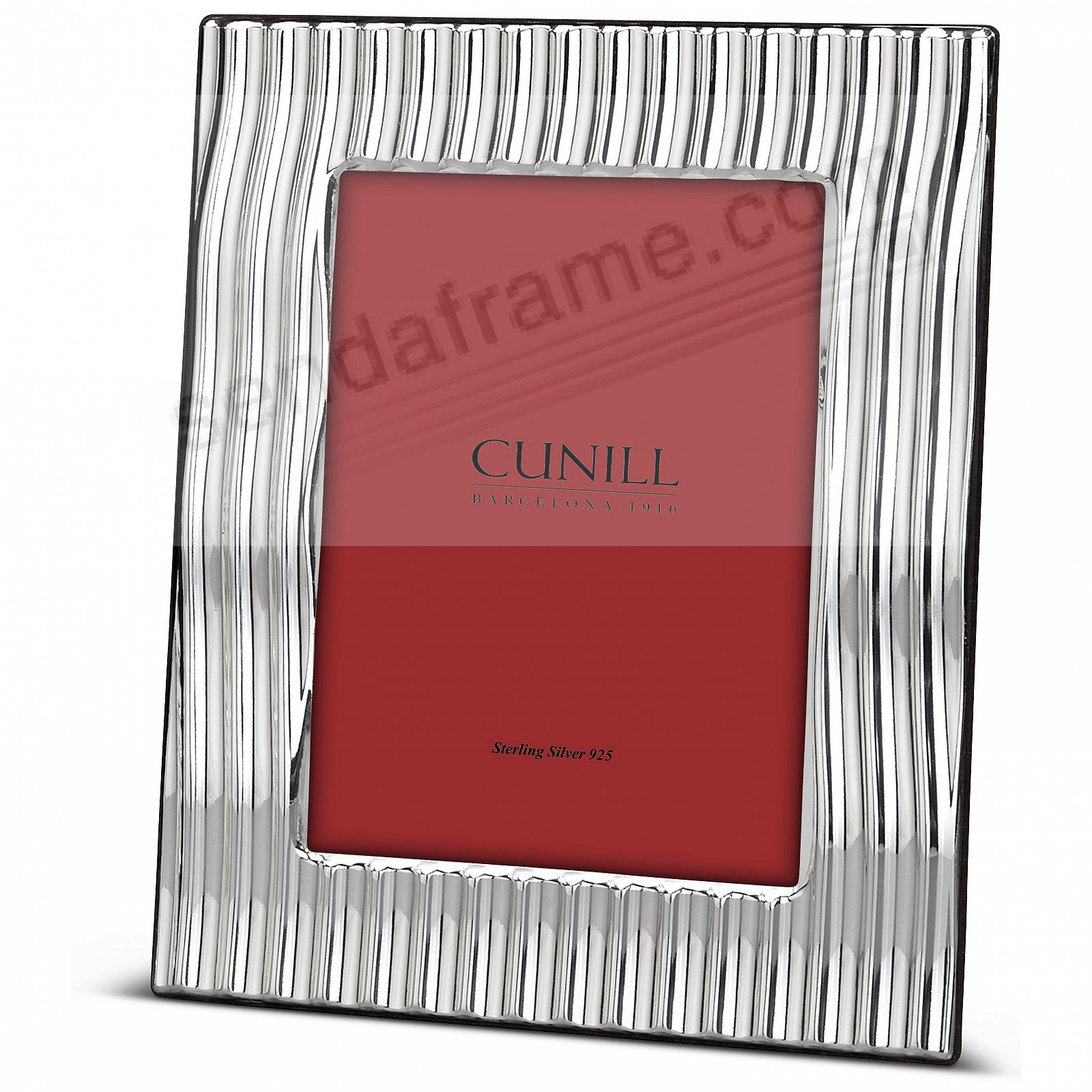 SLOPES Fine Sterling Silver 4x6 frame<br>by Cunill® Italy