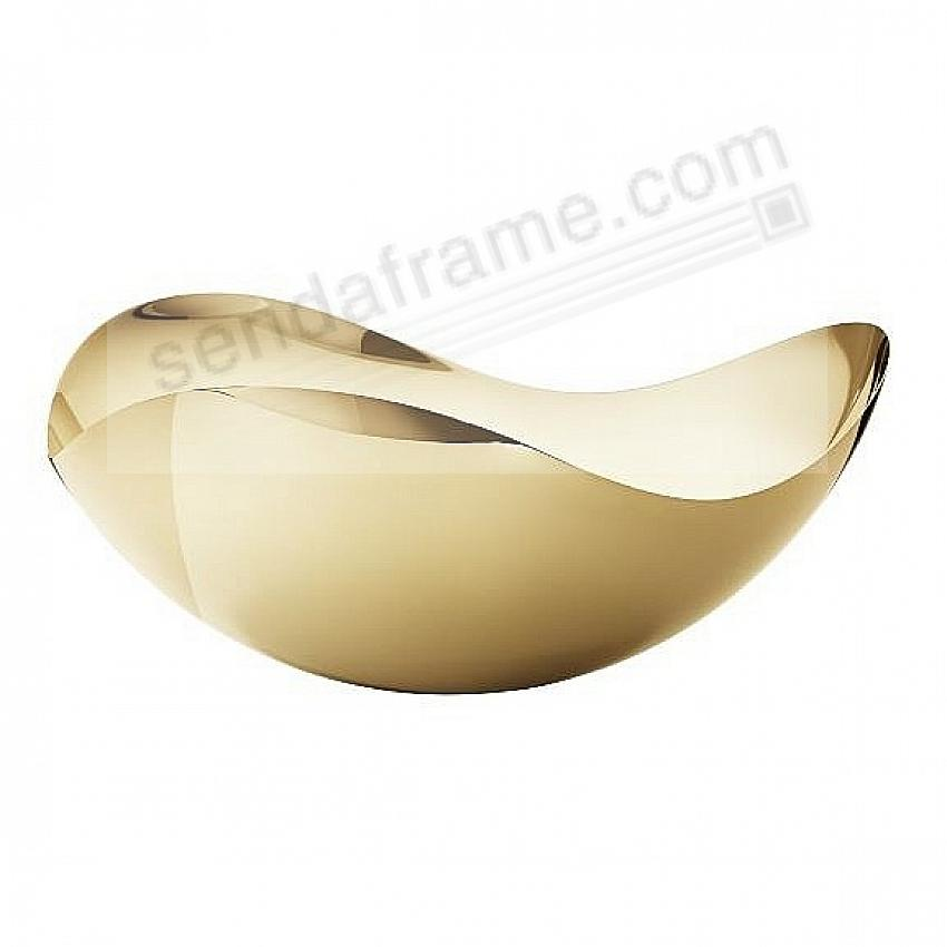 The Original Bloom Bowl -Large- 18kt Gold Plated Stainless Steel by Georg Jensen®