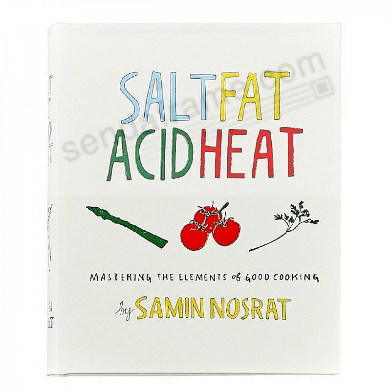 SALT FAT ACID HEAT by Samin Nosrat In Hand-Tooled Luxe Leather