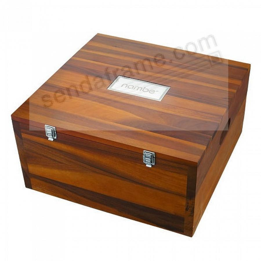 NATIVITY STORAGE BOX crafted by Nambe®