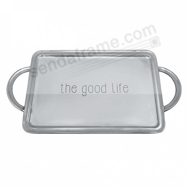 THE GOOD LIFE SIGNATURE HANDLED 15in TRAY by Mariposa®