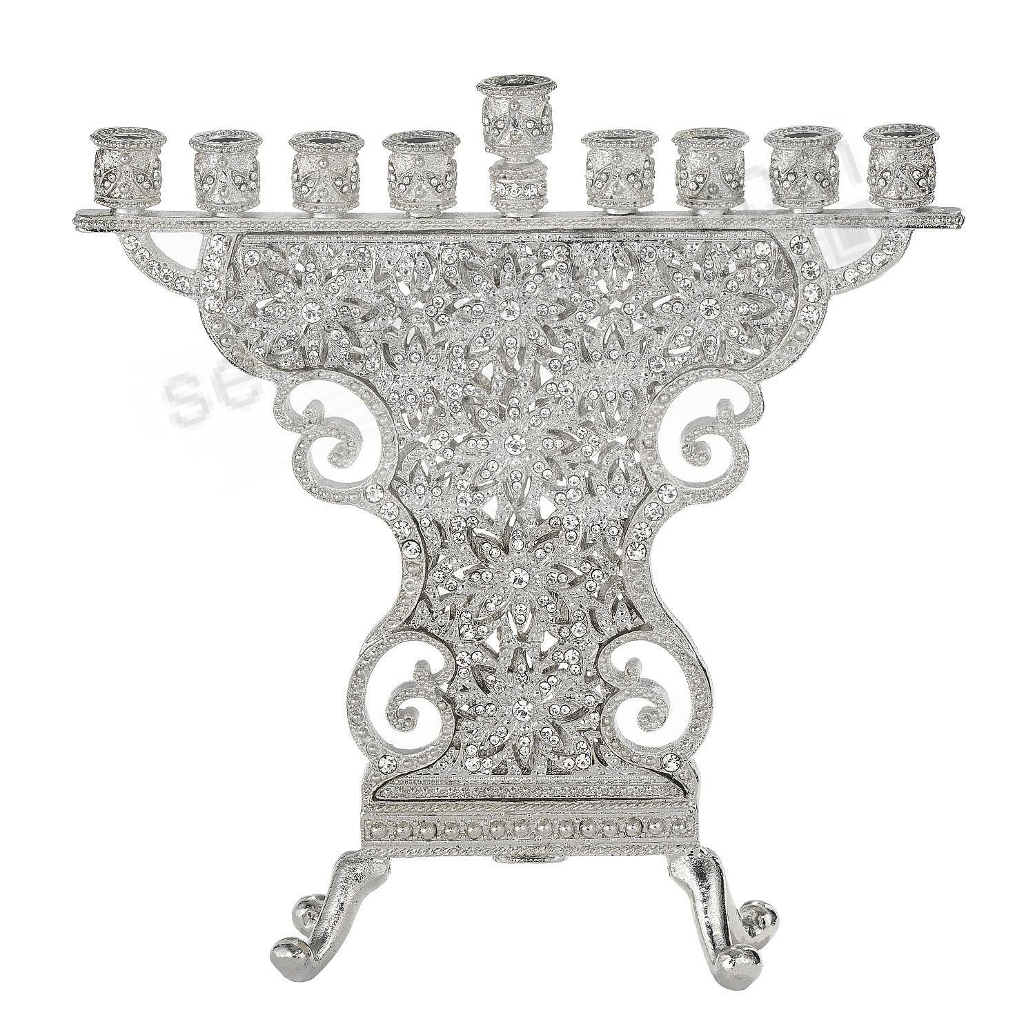 The CRYSTAL WINDSOR MENORAH by Olivia Riegel®