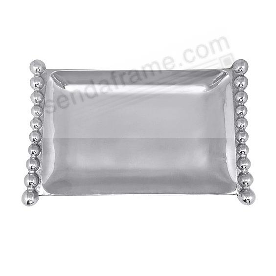 FLANKED PEARL Small tray 10x6 crafted by Mariposa® - Engraveable!