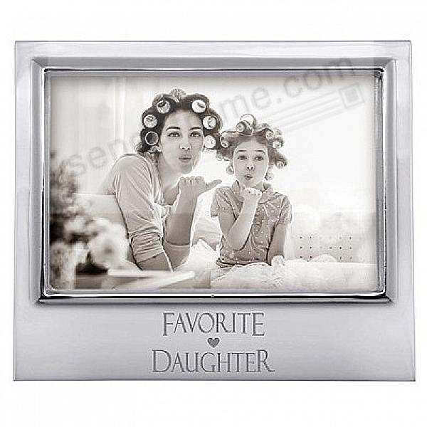 FAVORITE DAUGHTER 6x4 frame by Mariposa®