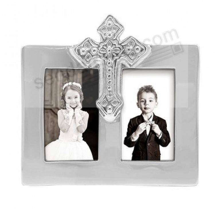 CROSS DOUBLE OPENING frame for 2x3 prints by Mariposa®