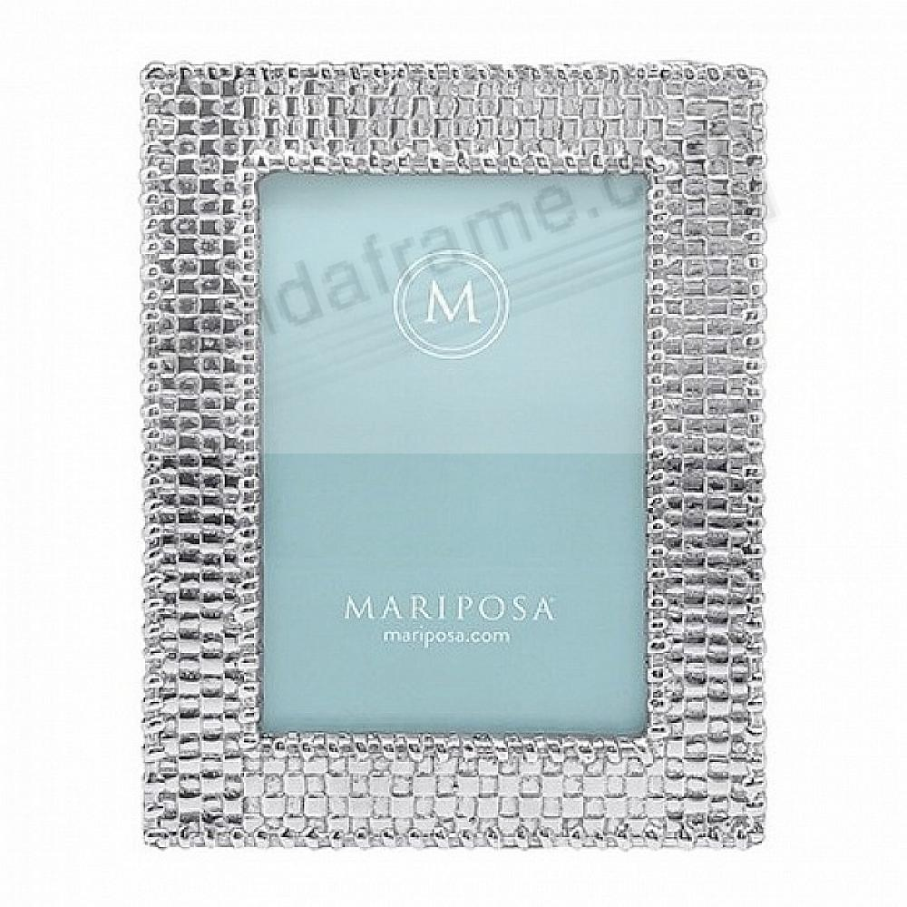 BASKETWEAVE frame for your 4x6 print by Mariposa®