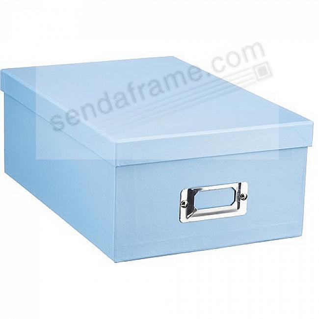 SKY-BLUE Archival STORAGE Photo Box by Pioneer®