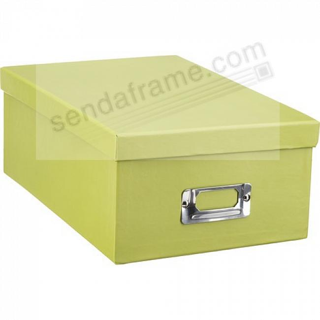 SAGE-GREEN Archival STORAGE Photo Box by Pioneer®