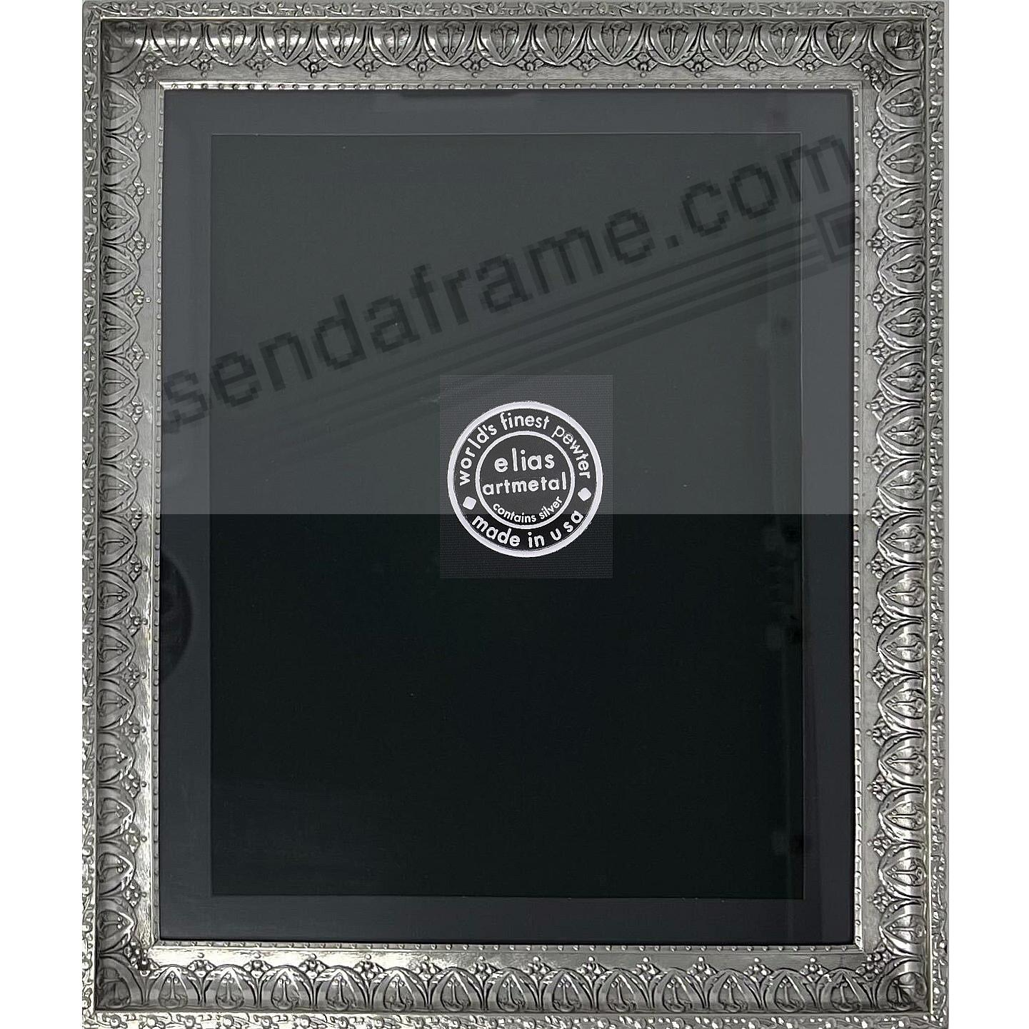 ARCHES fine silvered Pewter by 8x10/6½x8½ frame Elias Artmetal®