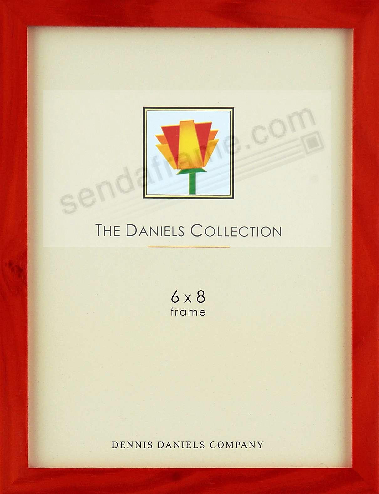 The Original DANIELS W41: Square Corner GALLERY WOODS cherrywood 6x8 by Dennis Daniels®