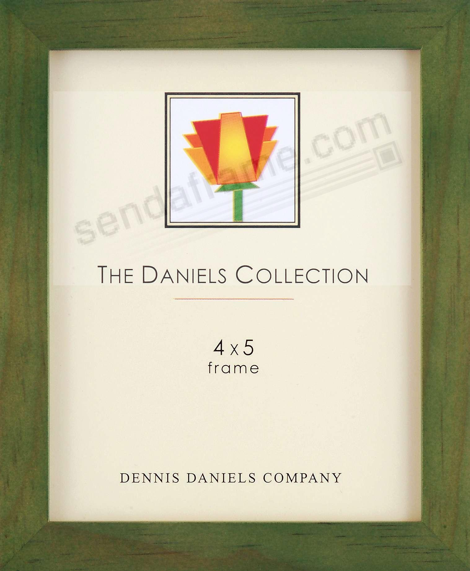 The Original DANIELS W41: Square Corner GALLERY WOODS green-stained oak by Dennis Daniels®